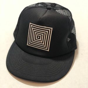 LuLaRoe Trucker Hat Cap LLR Black Unisex